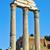 templom · római · fórum · Róma · Olaszország · felhők - stock fotó © nito