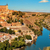 panoramic view of toledo spain and the tagus river stock photo © nito