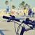 ville · vélo · vélo · floue · vieux · panier - photo stock © nito