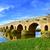 puente romano bridge in merida spain stock photo © nito