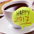 coffee and text happy 2017 stock photo © nito
