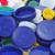 parafuso · reciclável · colorido · plástico · fundo · azul - foto stock © nito