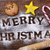 christmas cookies and text merry christmas stock photo © nito