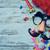 carnaval · masker · namaak · neus · snor · veren - stockfoto © nito