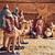 fából · készült · jelenet · izolált · fehér · háttér · Jézus - stock fotó © nito