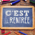 text cest la rentree back to school in french stock photo © nito