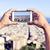 panorámakép · kilátás · város · Barcelona · Spanyolország · égbolt - stock fotó © nito
