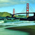 golden · gate · ponte · padeiro · praia · natureza · areia - foto stock © nito