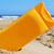 garrafa · creme · queimadura · de · sol · plástico · areia · praia - foto stock © nito