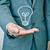man and lightbulb stock photo © nito