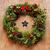 christmas · krans · rustiek · houten · deur · voordeur - stockfoto © nito