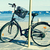 bicycle in a seafront on the mediterranean sea with a filter ef stock photo © nito