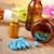 üveg · illóolaj · cseppentő · aromaterápia · lényeg · barna - stock fotó © nito