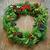 feestelijk · christmas · krans · winter · vierkante - stockfoto © nito