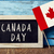 text canada day and flag of canada stock photo © nito
