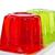 zselé · piros · eper · szín · zöld · kanál - stock fotó © nito