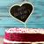 lavagna · testo · torta · rosso · velluto - foto d'archivio © nito