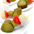 spanish banderillas skewers with pickles stock photo © nito