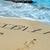 ibiza written in the sand stock photo © nito