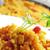 kurczaka · warzyw · selektywne · focus · mięsa · obiad · pie - zdjęcia stock © nito