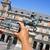 plaza mayor in madrid spain stock photo © nito