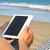 livre · électronique · comprimé · plage · lecteur · sable - photo stock © nito