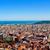 panorámakép · kilátás · város · Barcelona · városkép · épületek - stock fotó © nito