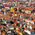 venice roofs in italy with tilt shift lens effect stock photo © nito