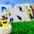 Pasen · kuikens · gras · weinig · hemel · bloem - stockfoto © nito