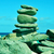 stack of balanced stones in the beach stock photo © nito
