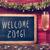 confetti champagne and text welcome 2016 stock photo © nito