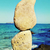 stack of balanced stones in ibiza island spain stock photo © nito