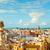 スペイン · 地中海 · 海 · ビーチ · 市 - ストックフォト © nito