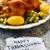 Turquía · texto · feliz · acción · de · gracias · día · primer · plano - foto stock © nito