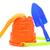 プラスチック · バケット · 演奏 · 砂 · 孤立した · 白 - ストックフォト © nito