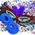 carnaval · maskers · confetti · veren · verschillend · kleuren - stockfoto © nito