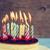 именинный · торт · свечей · сжигание · пластина · розовый · вечеринка - Сток-фото © nito
