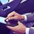 empresario · red · social · moderna · teléfono · móvil · mano · aplicación - foto stock © nito