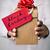 homem · caixa · de · presente · texto · black · friday · jovem - foto stock © nito