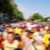 defocused background of people partying or marching outdoors stock photo © nito