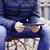 człowiek · posiedzenia · w · dół · fluorescencyjny · kurtka - zdjęcia stock © nito