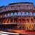 éjszaka · Róma · Olaszország · kép · történelem · panorámakép - stock fotó © nito