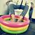 hombre · natación · inflable · agua · piscina - foto stock © nito