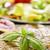 vegan · hamburger · zöldségek · frissen · sötét · rusztikus - stock fotó © nito