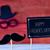 jour · de · pères · heureux · chapeau · moustache · illustration · design · isolé - photo stock © nito