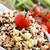 ボウル · コメ · サラダ · ビュッフェ · 表 · 混合した - ストックフォト © nito