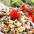bol · riz · salade · buffet · table · mixte - photo stock © nito