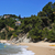 coves of cala llorell in tossa de mar spain stock photo © nito