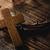 crucifixo · coroa · atravessar · cristão · igreja - foto stock © nito