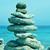 kiegyensúlyozott · kövek · boglya · folyam · folyó · fekete - stock fotó © nito